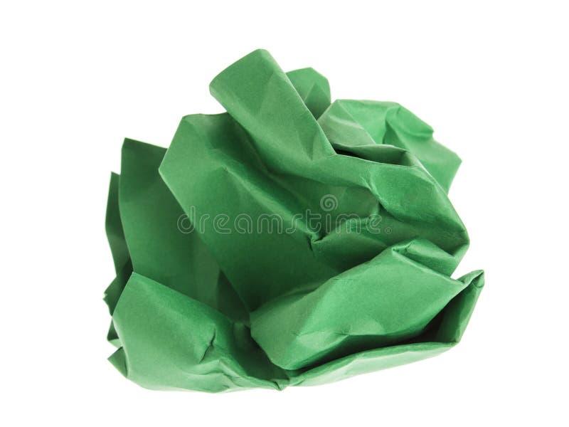 Zielony gomółka papier obraz royalty free