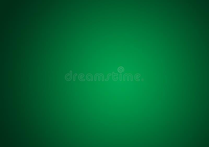 Zielony gradientowy tapetowy projekta tło royalty ilustracja