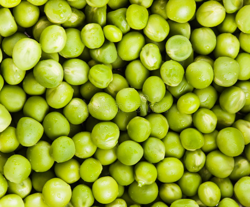 Zielony groch obraz royalty free