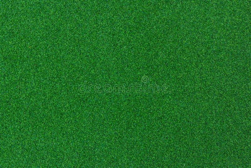 Zielony grzebaka stół czuł tło z cień winietą, Zielenieje odczuwanego obraz stock