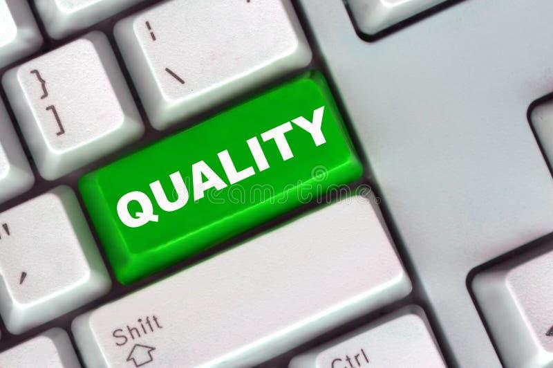 zielony guzik klawiaturowa jakości obraz stock