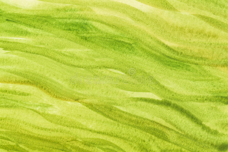 Zielony i żółty abstrakt fotografia royalty free
