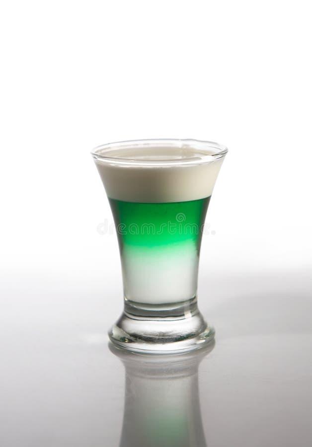 zielony koktajlu trunek fotografia royalty free