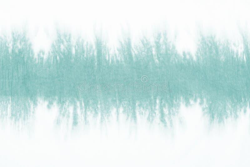 Zielony krawat farbujący wzór na bawełnianej tkaniny upadzie farbował technika abstrakta tło zdjęcie royalty free