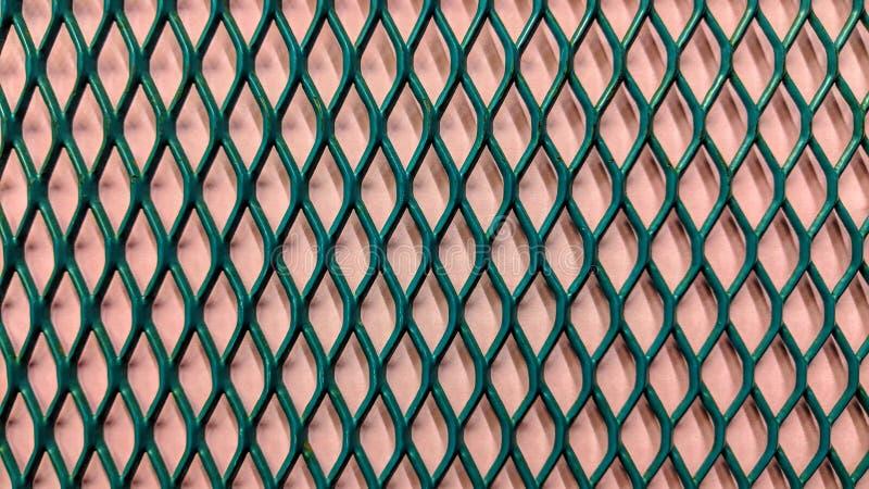 zielony kruszcowy grill na świetle - purpury papierowy tło ilustracji