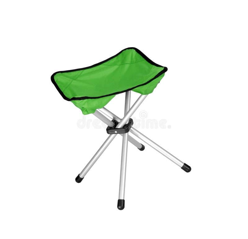 Zielony krzesło obraz royalty free
