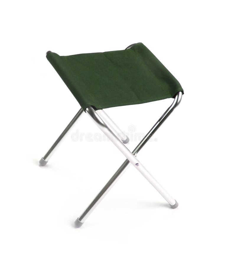 Zielony krzesło obraz stock