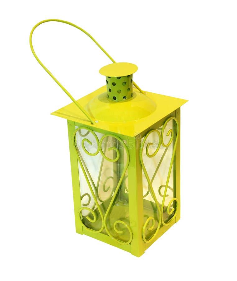 zielony lampion zdjęcie stock