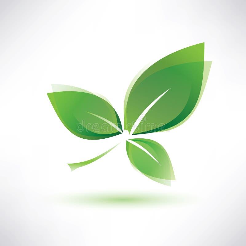 Zielony liść ilustracja wektor
