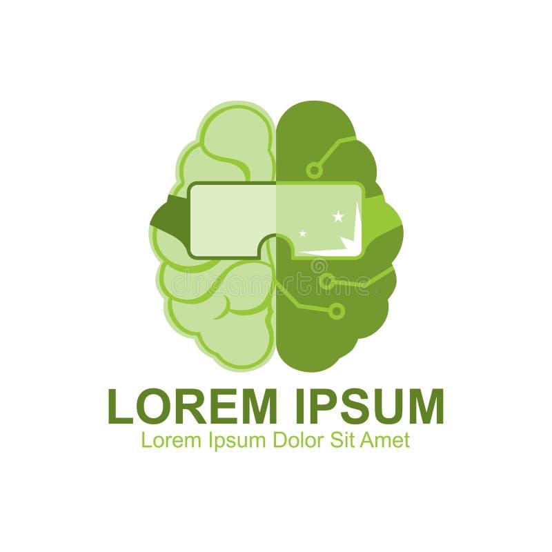 Zielony Mądrze Spawalniczy logo ilustracja wektor