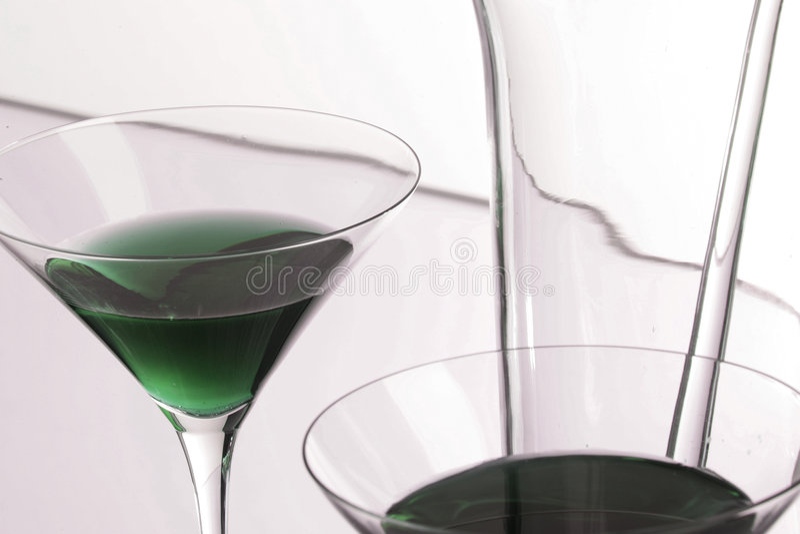 - zielony Martini obrazy royalty free