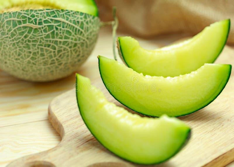 zielony melon obraz royalty free