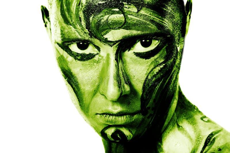 zielony metro obrazy stock