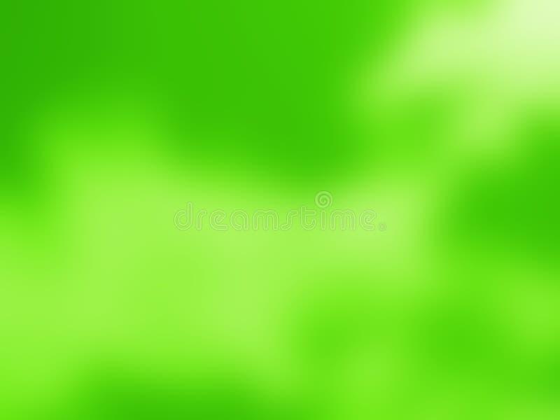 Zielony miękki abstrakcjonistyczny tło dla różnorodnych projekt grafika zdjęcia stock