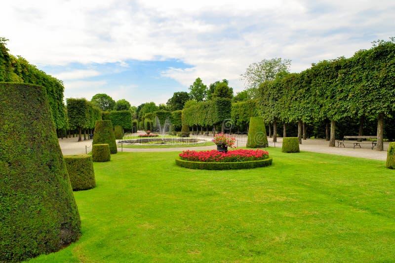 Zielony miasto park zdjęcia royalty free