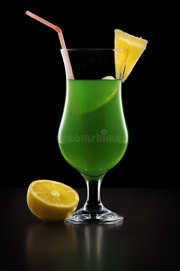 Zielony napój fotografia stock