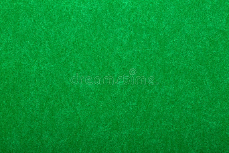 Zielony odczuwany na kasyno stole zdjęcia royalty free
