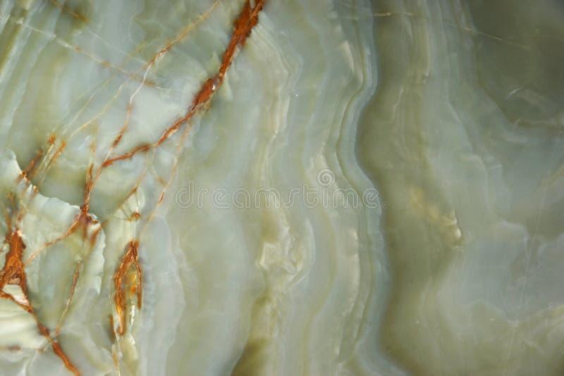 Zielony onyks z żyłami powierzchnia naturalny kamień zdjęcia stock