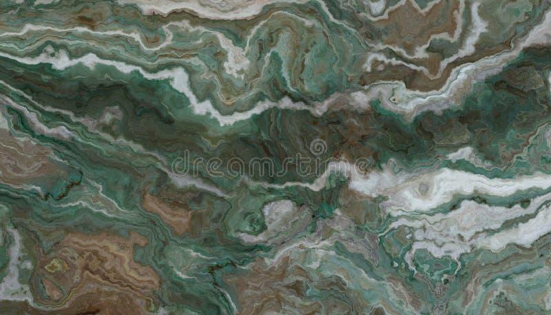 Zielony onyksowy tło zdjęcie stock