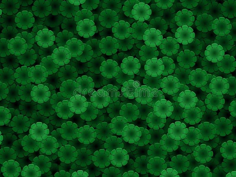 zielony p ilustracja wektor