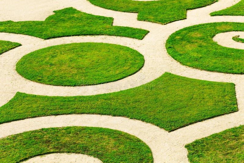 Zielony parterre Versailles pałac oranżeria Francja zdjęcie stock