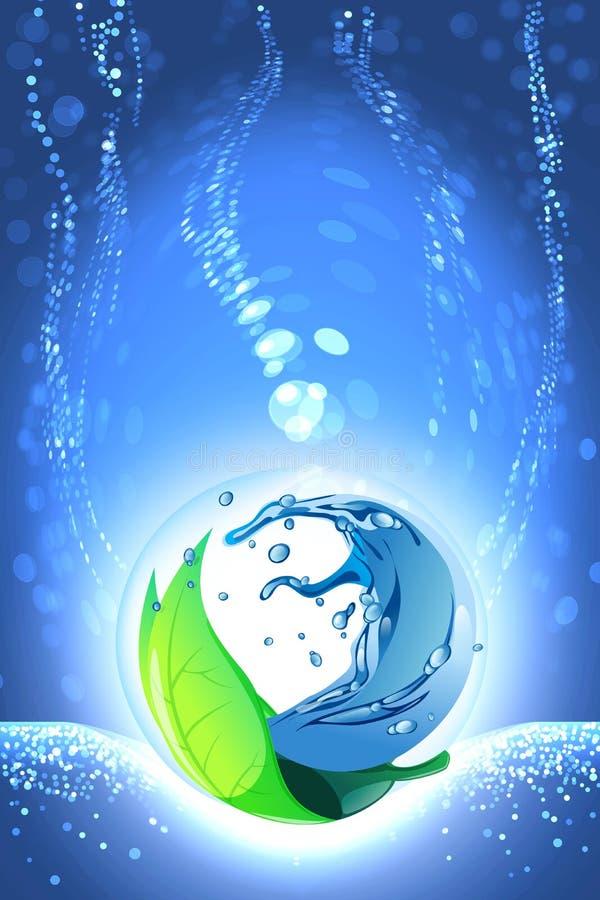 Zielony pojęcia tło ilustracji