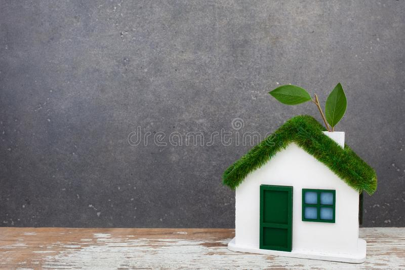 zielony pojęcie dom obrazy stock