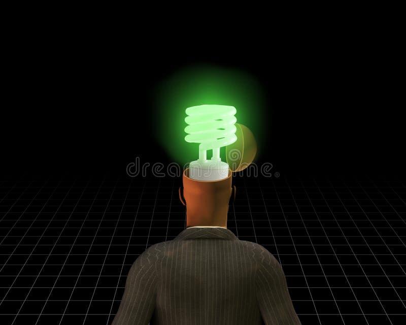 zielony pomysł obraz stock