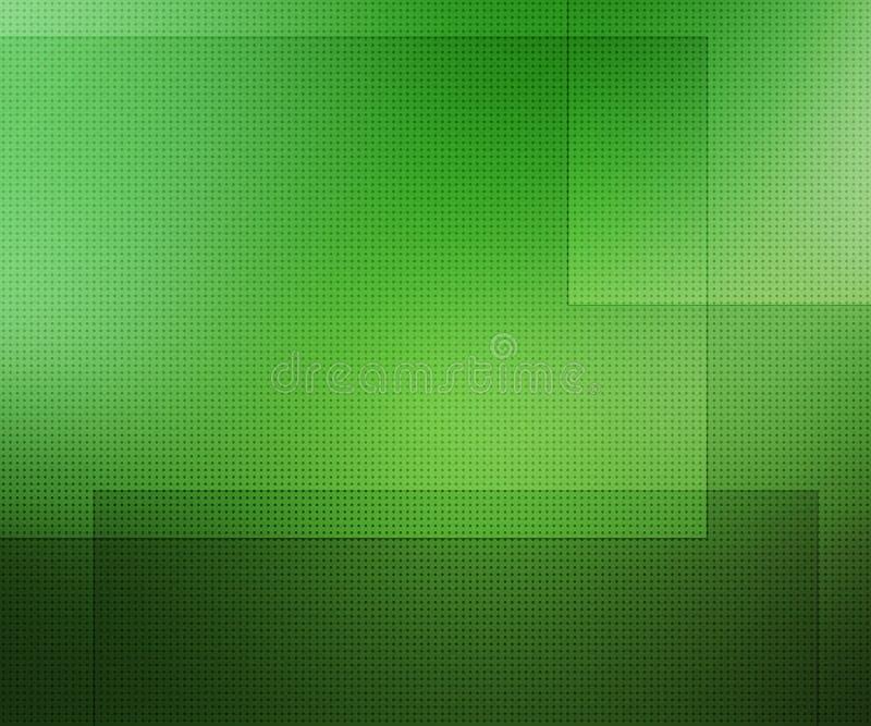 Zielony Prosty prezentaci tło ilustracji