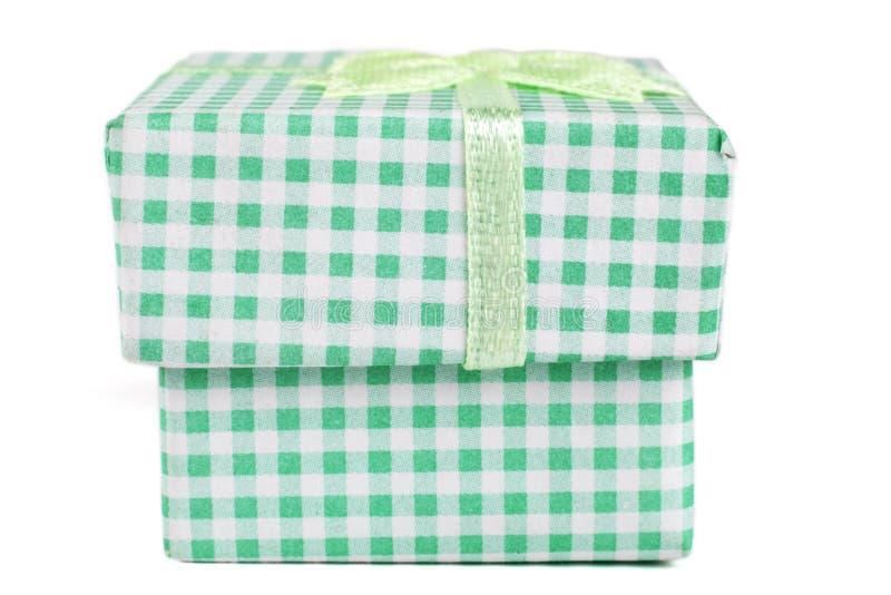 Zielony pudełko zdjęcia royalty free