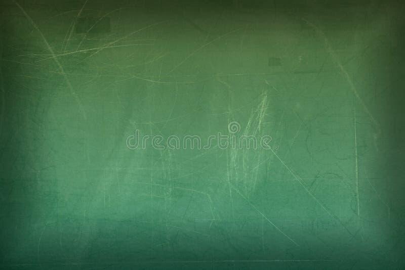 Zielony pusty chalkboard dla tła zdjęcia stock