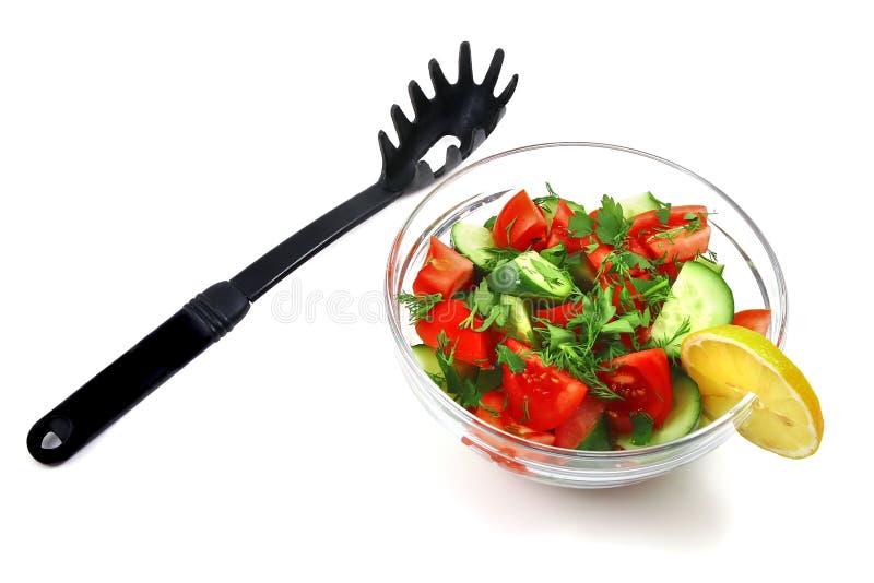 zielony sałatkowy warzywo obraz stock