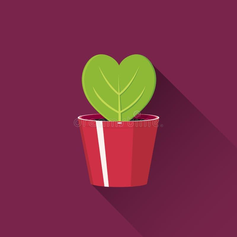 zielony serce obraz royalty free
