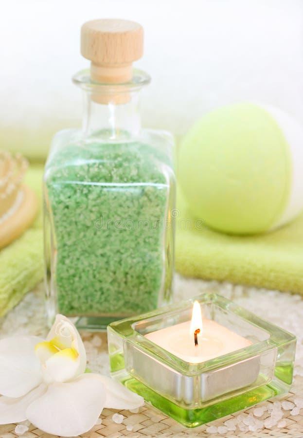 zielony spa obraz stock