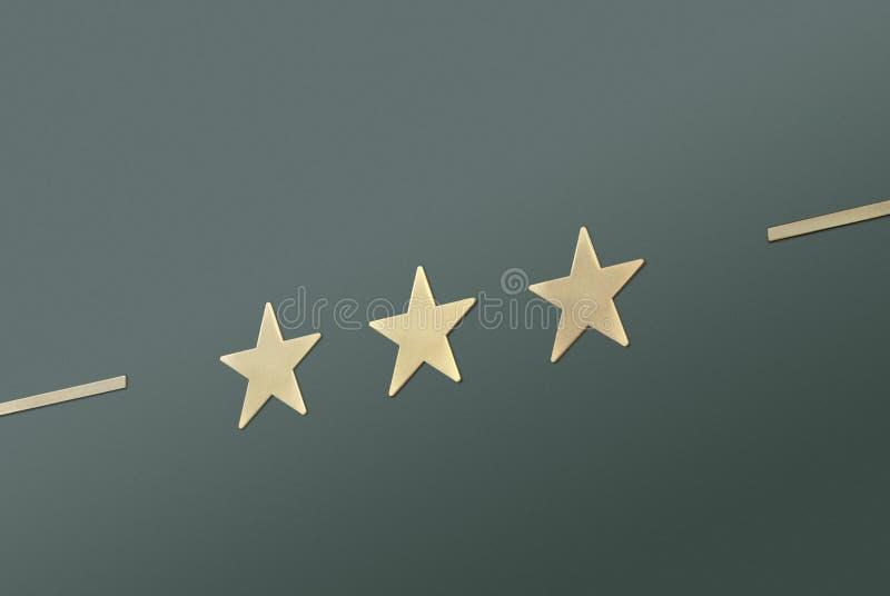 zielony star 3 fotografia stock