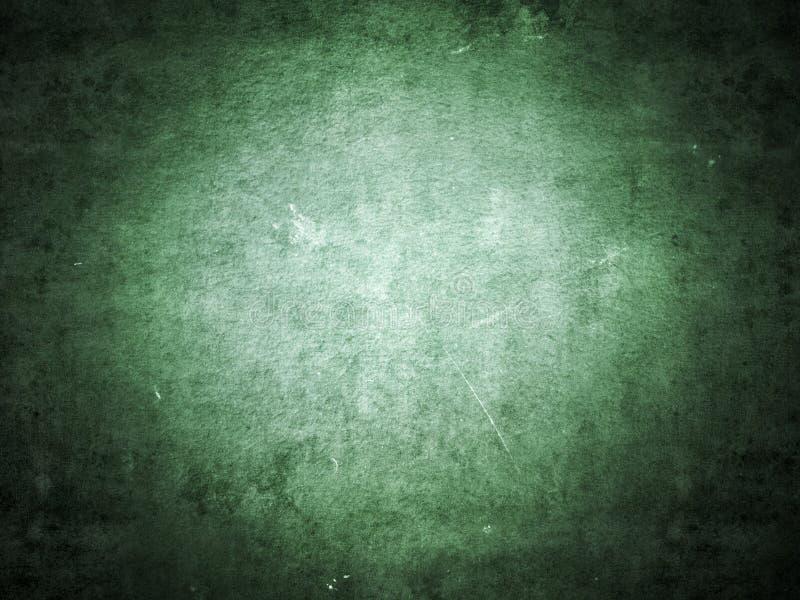 Zielony stary grunge papieru tekstury plamy tło obraz stock