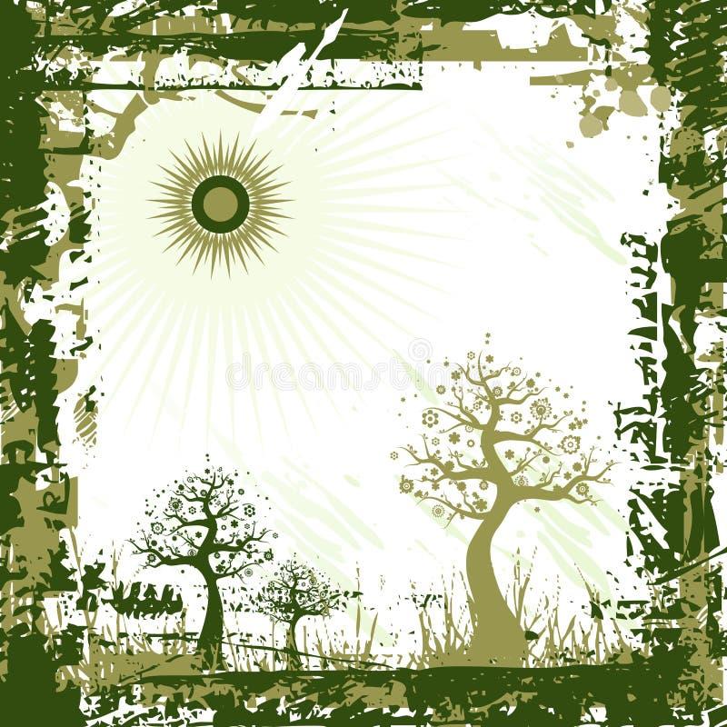 zielony tła wektora royalty ilustracja