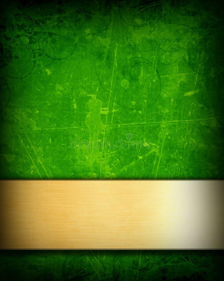 Zielony tło royalty ilustracja