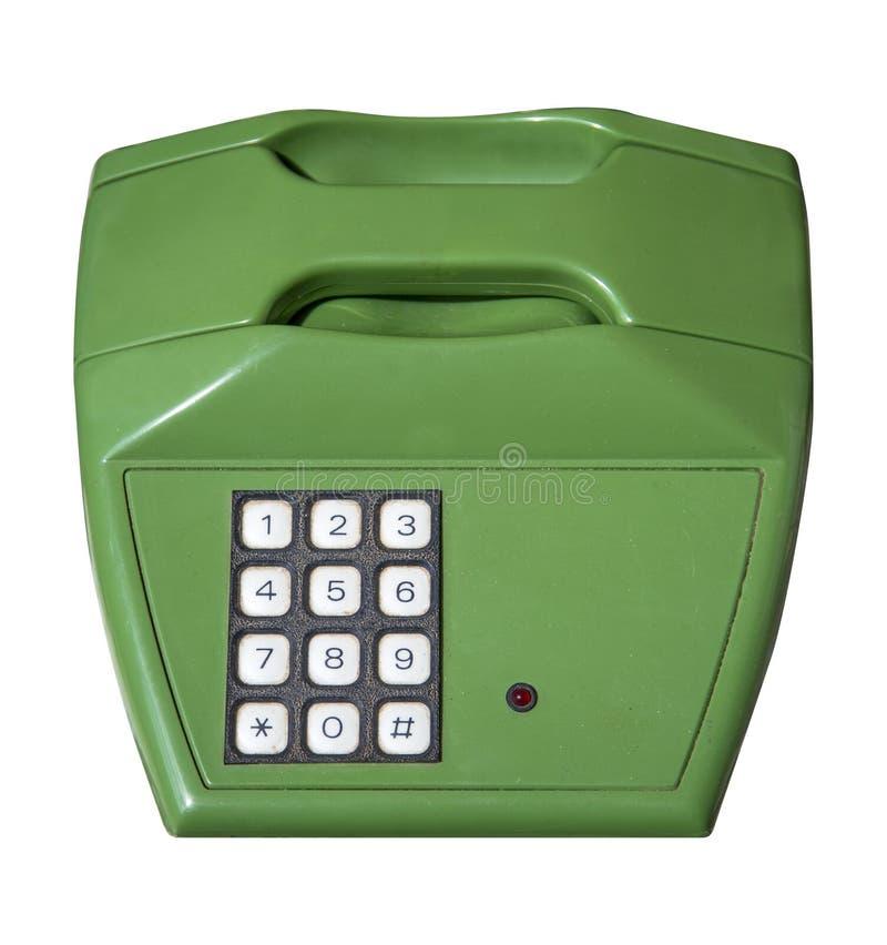 zielony telefon obraz royalty free