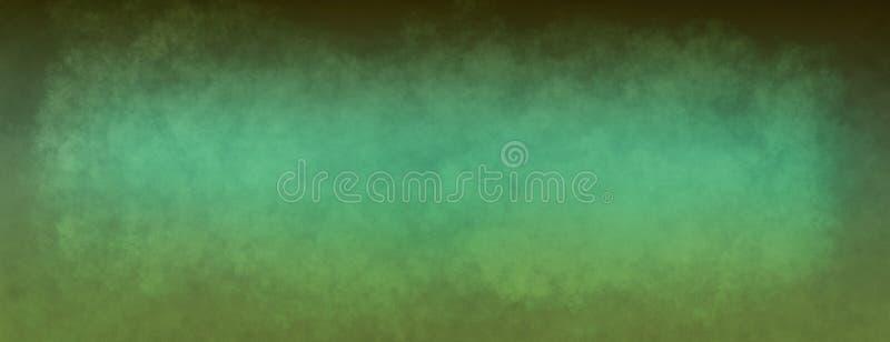 Zielony textured Bożenarodzeniowy tło z rocznik teksturą, starym textured papierem lub ścianą, ilustracja wektor