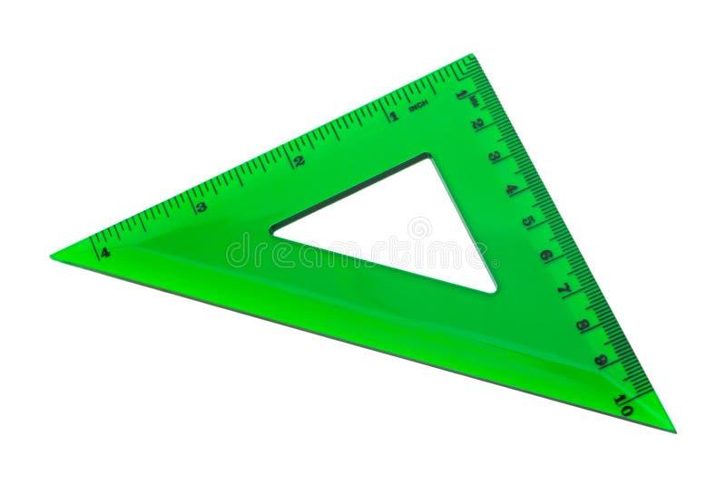 zielony trójbok zdjęcia stock