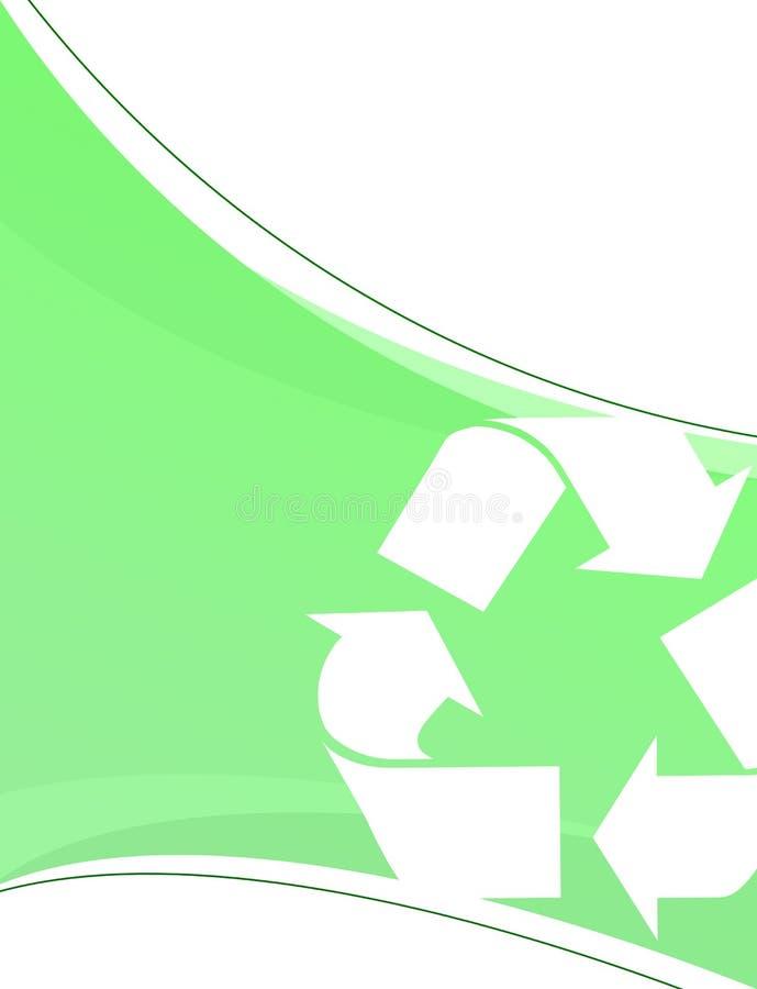 zielony układu przetwarzania royalty ilustracja