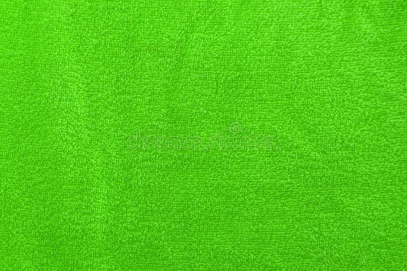 Zielony velor materiał zdjęcie royalty free