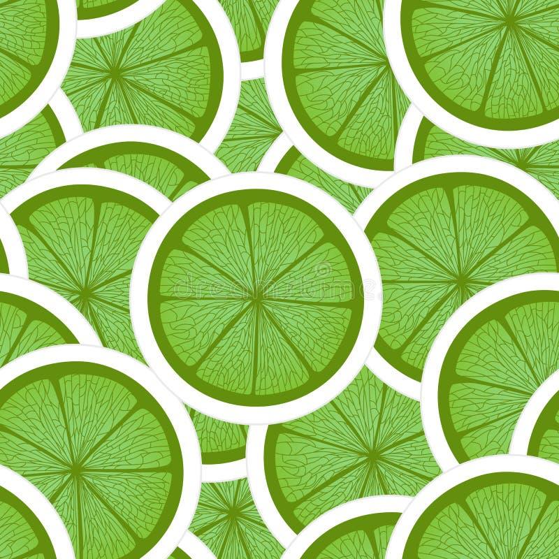 zielony wapno ilustracja wektor