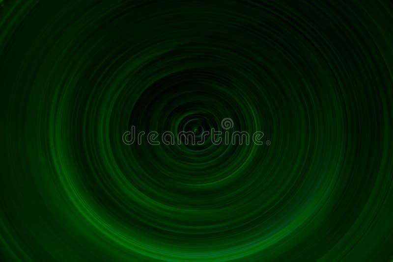 Zielony warstwy vortex tło ilustracja wektor