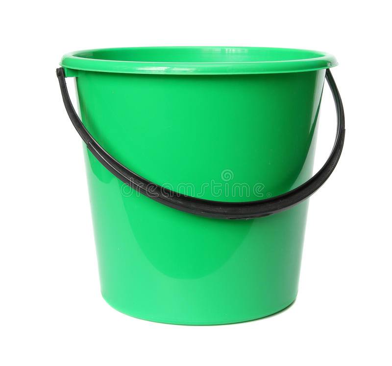 zielony wiadro klingeryt zdjęcia royalty free