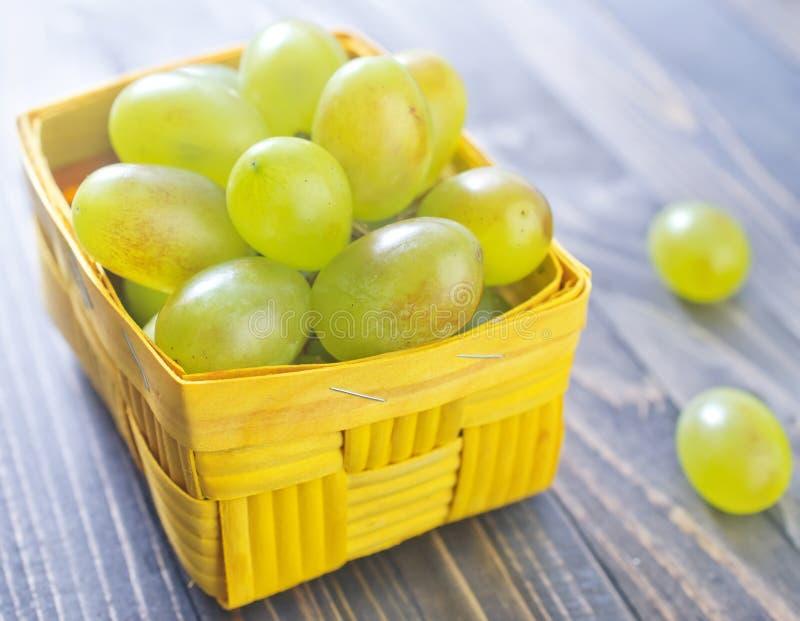 Zielony winogrono zdjęcia stock