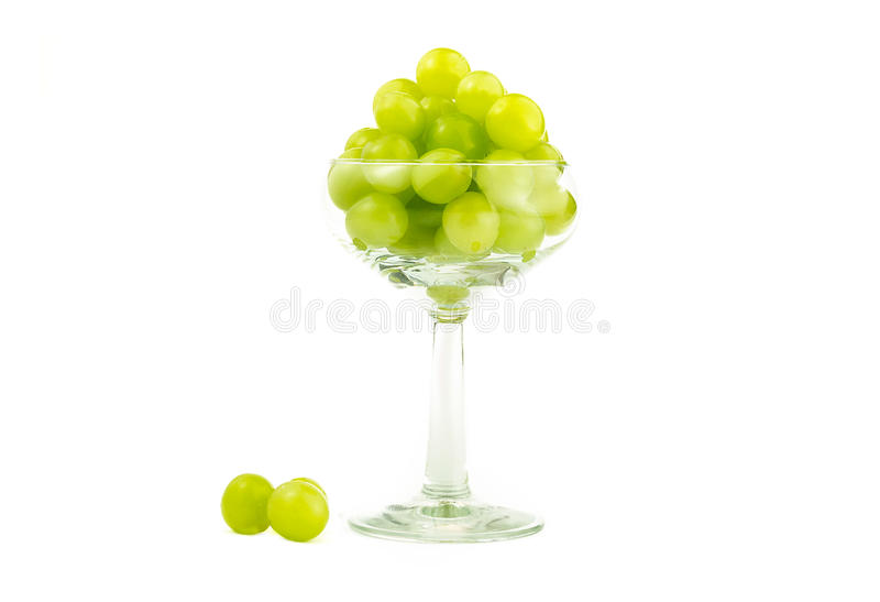 Zielony winogrono zdjęcie royalty free
