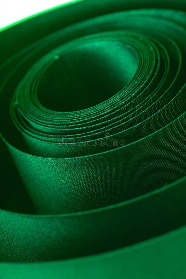 zielony wstążki fotografia royalty free