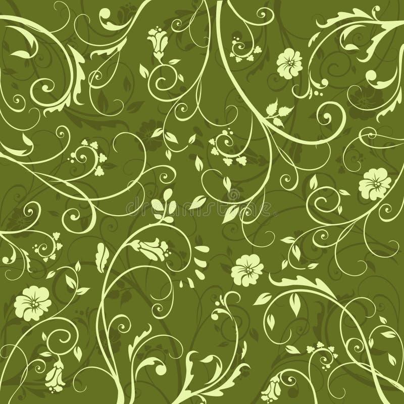 zielony wzór ilustracja wektor